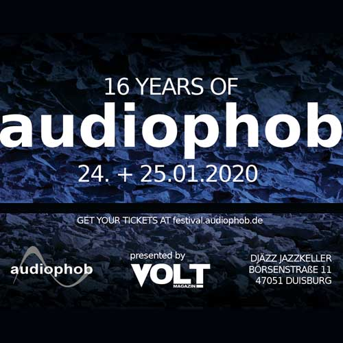 16 years of audiophob – Labelfestival mit Blac Kolor, Xabec, Mandelbrot, Darkrad u. a.