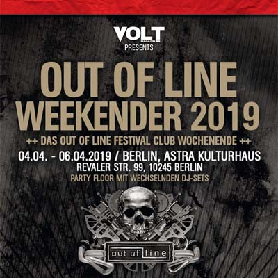 Out Of Line Weekender 2019 in Berlin – der Electro-Donnerstag