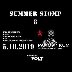 Summer Stomp 8: Mit Claus Larsen, Parade Ground, Paralyzzer, Batch ID u. v. a. in die nächste Runde!
