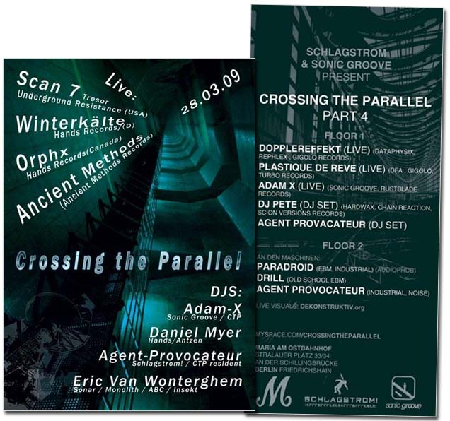 crossing the parallel party berlin