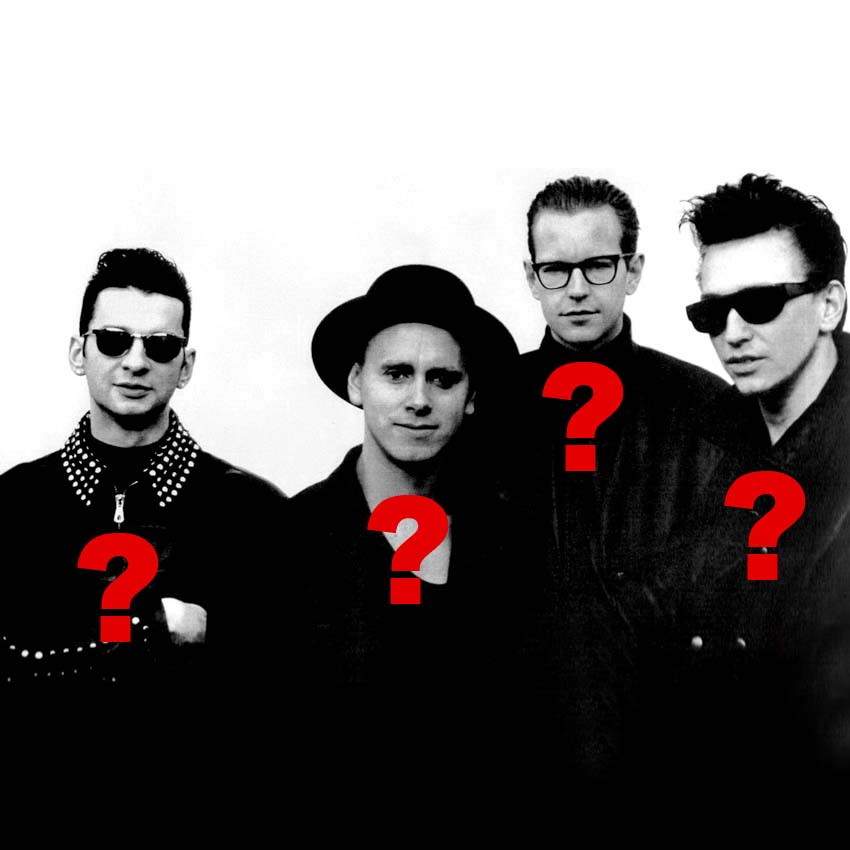 depeche mode 6 unknown facts
