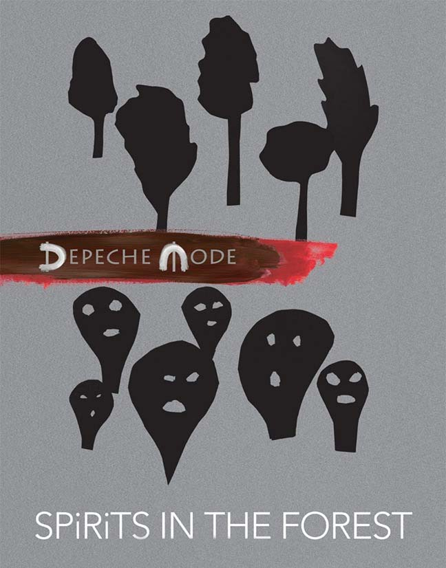 depeche mode spirits in the forest artwork