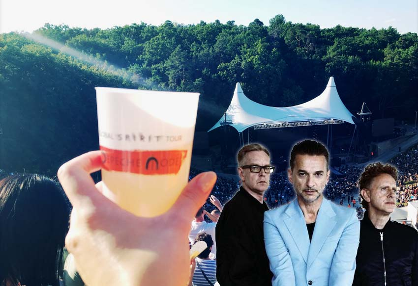 depeche mode spirits in the forest