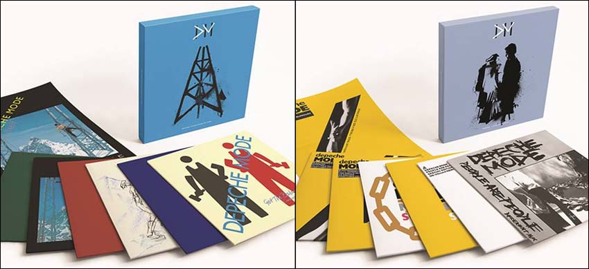 Depeche Mode Construction Time Again Some Great Reward - The Singles - Vinyl-Box