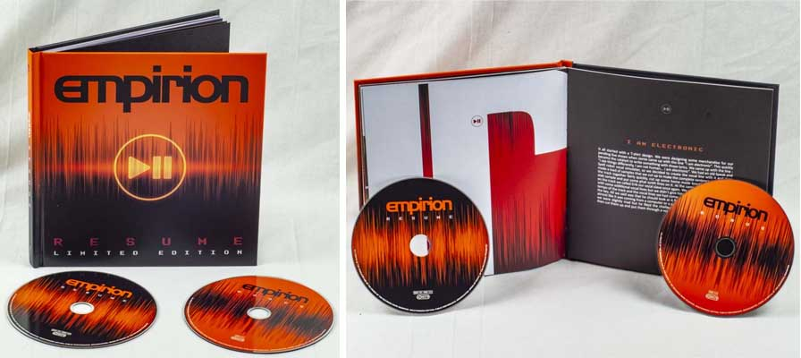 empirion resume limited edition 2cd book