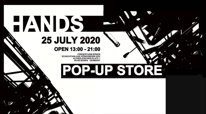 HANDS Pop-Up Store 2020
