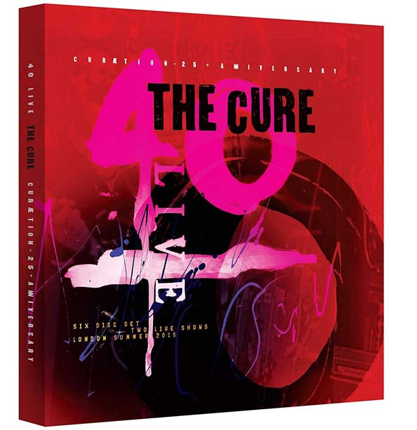 the cure Curaetion 25 box