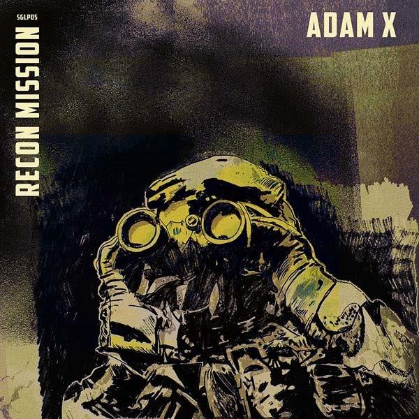 adam x recon mission album cover artwork