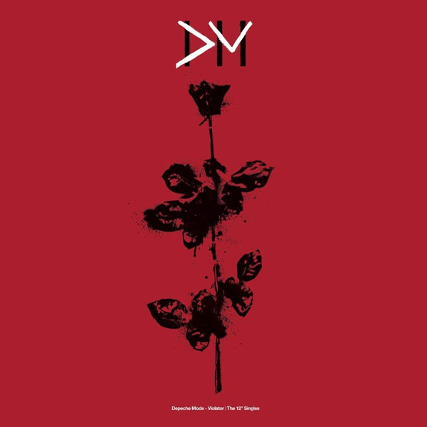 "Depeche Mode ""Violator - The 12"" Singles"" vinyl box cover artwork"