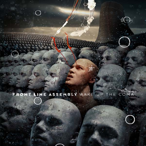 front line assembly wake up the coma album cover cd artwork