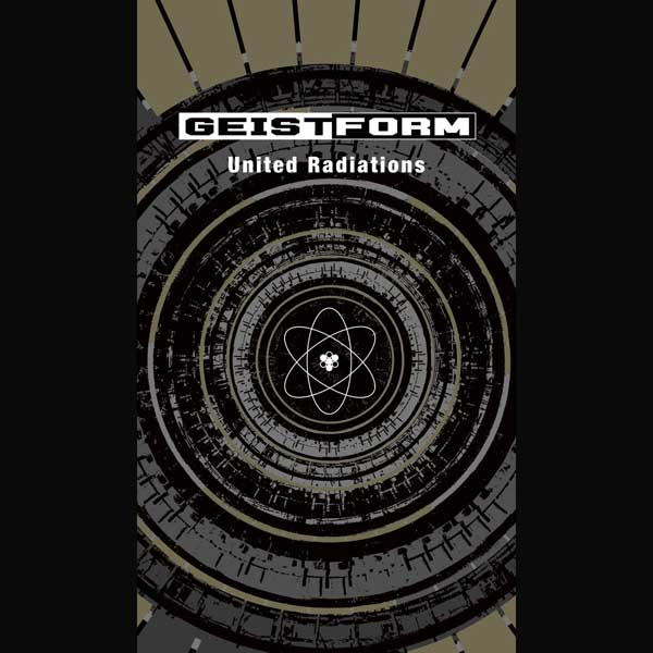 "Geistform ""United Radiations"" artwork, cover"