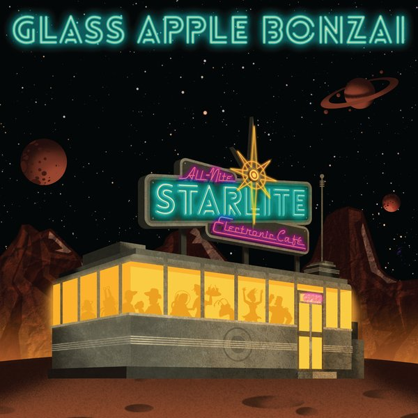 "2019-07-12: Glass Apple Bonzai ""The All-Nite Starlite Electronic Café"""