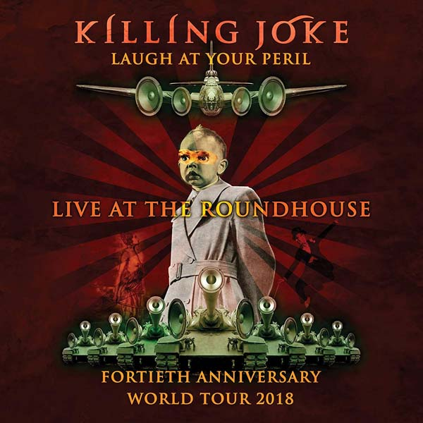 "Killing Joke ""Live At The Roundhouse"" album cover artwork"