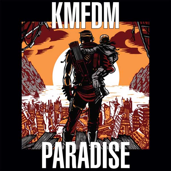 "KMFDM ""Paradise"" album cover artwork"