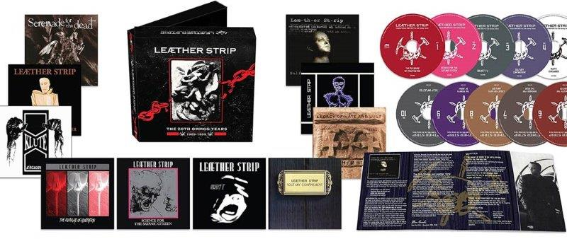 leaether strip zoth ommog years 1989 1999 box