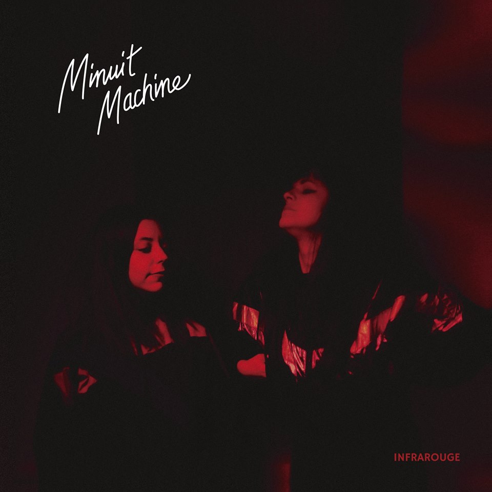 minuit machine infrarogue album cover