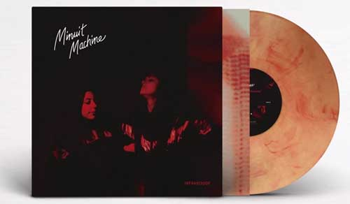 minuit machine infrarouge orange vinyl limited