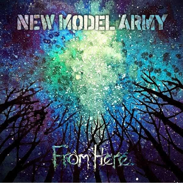 new model army from here album cover artwork