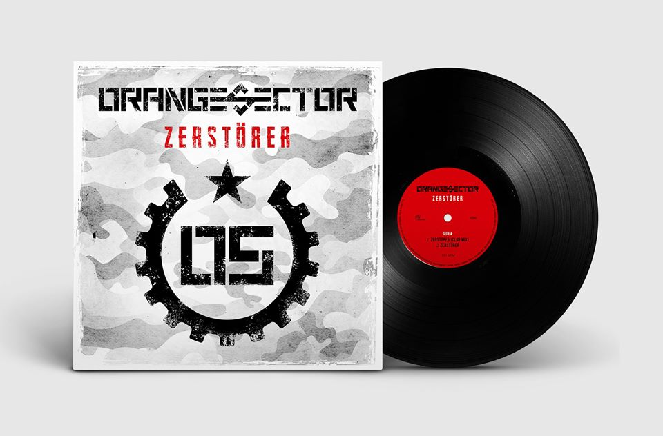 orange sector zerstörer vinyl