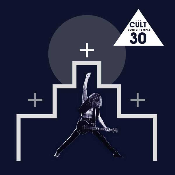 "The Cult ""Sonic Temple"" (30th Anniversary) album cover artwork"