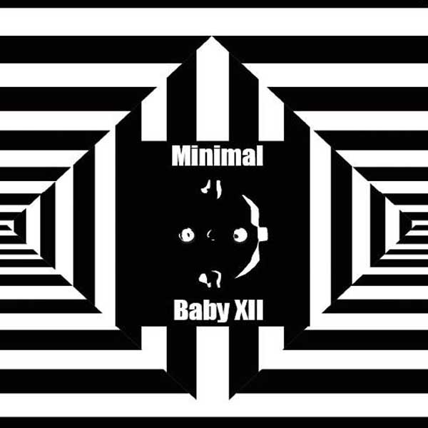 "Various Artists ""Minimal Baby XII"" album cover artwork"
