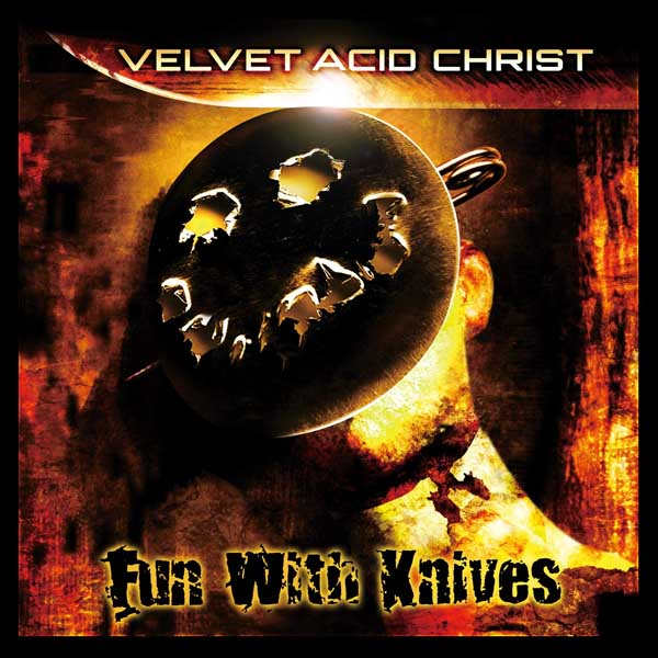 "Velvet Acid Christ ""Fun With Knives – The 20th Anniversary Edition"" album cover artwork"