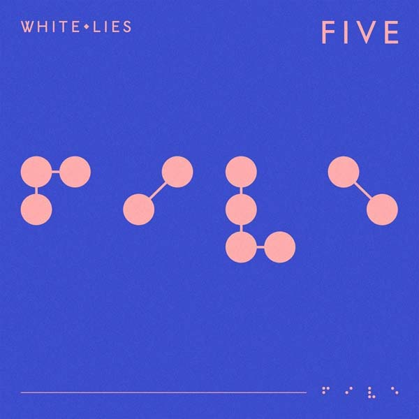 white lies five album cover artwork