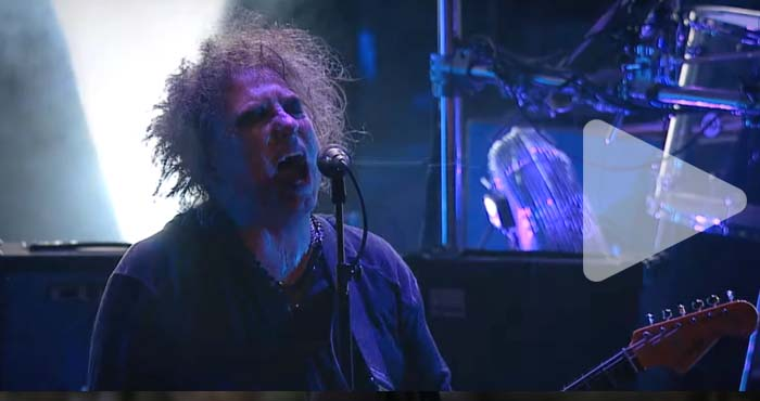 "Videoclip: The Cure ""Want"" (live)"